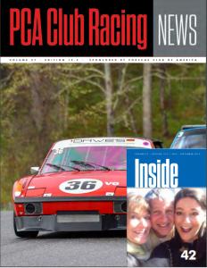 PCA Club Racing News