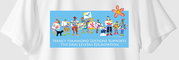 Nancy Hammonds Editions Erin Levitas Foundation T-Shirt