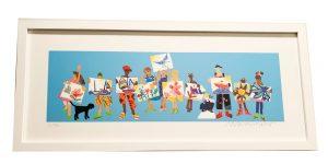 Erin Levitas Foundation Print in Frame