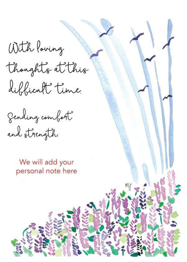 Sending loving thoughts