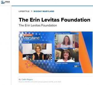Midday Maryland: The Erin Levitas Foundation