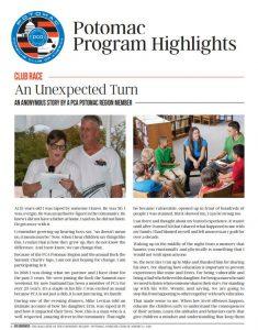 Potomac Program Highlights
